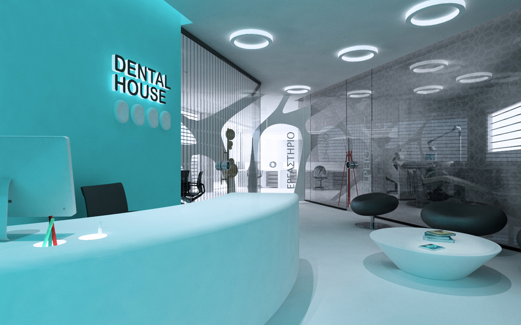 Dental Clinic Athens Iidsk Interior Design Construction