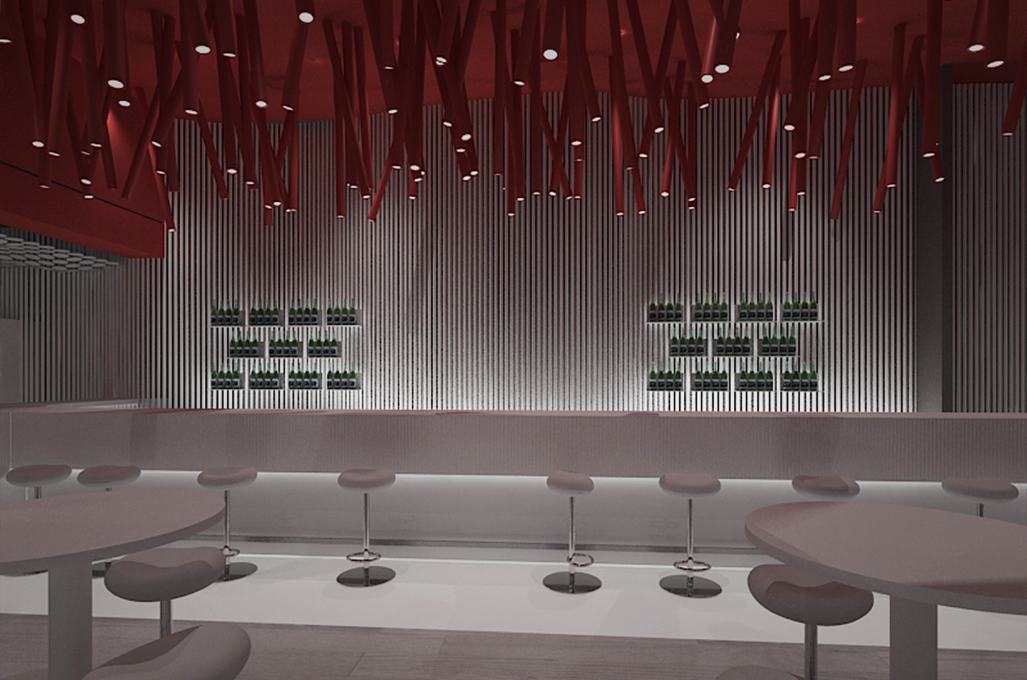 Kitchen bar restaurant plan and design cyprus iidsk